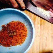 spaghetti alla bottarga preparazione