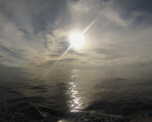 bonaccia in oceano