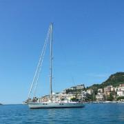 week end in barca a vela liguria portovenere
