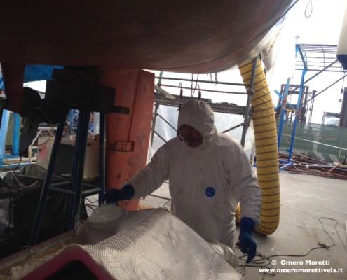 manutenzione barca charter