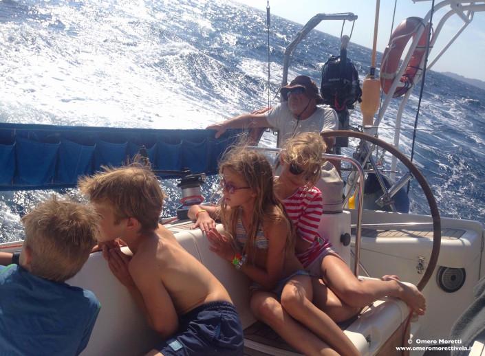 barca a vela bambini