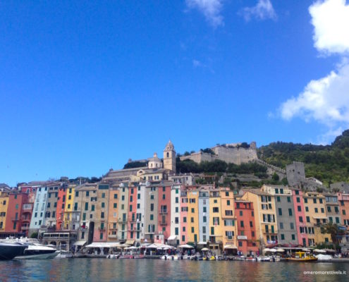 week end in barca a vela in liguria portovenere