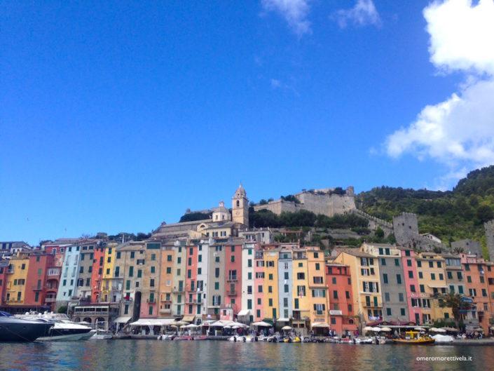 week end in barca a vela in liguria portovenere