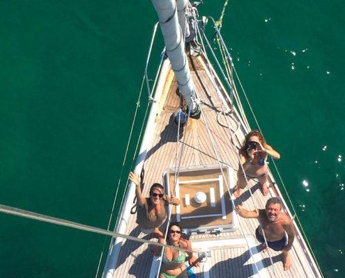 dalla sardegna alle baleari equipaggio