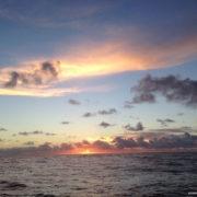 traversata atlantica alba in oceano