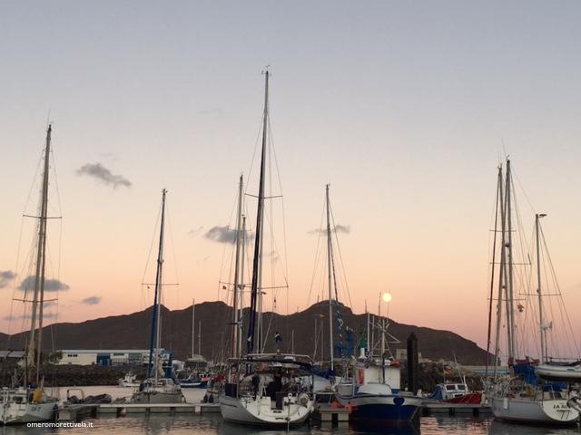 isole canarie gran tarajal luna