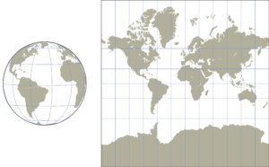 storia delle mappe regalo per velisti proiezione di mercatore