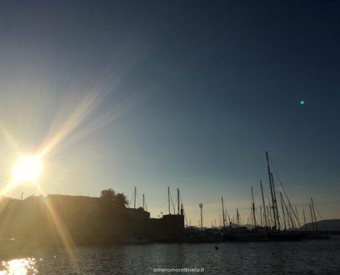sardegna nord occidentale alghero porto e città vecchia