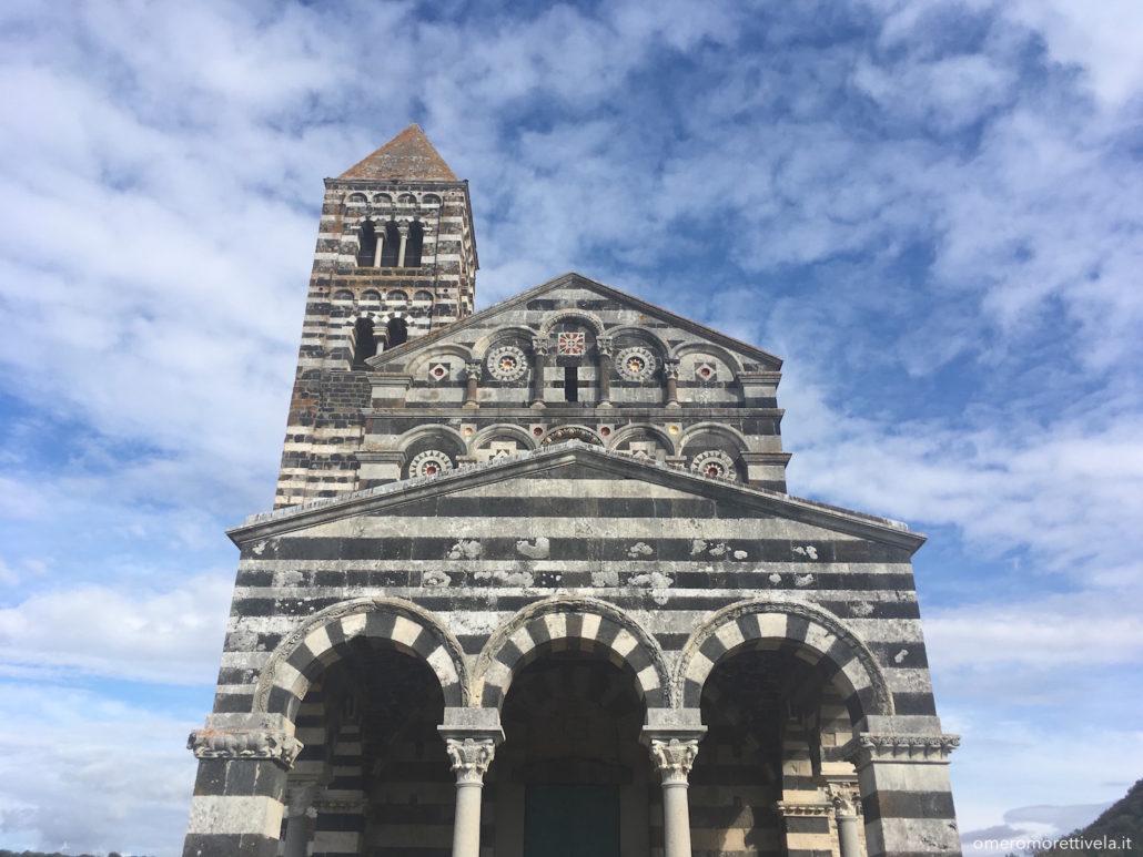 sardegna nord occidentale basilica di saccargia esterno