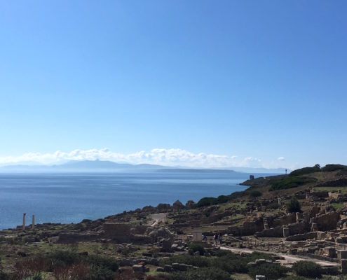 sardegna nord occidentale tharros panorama