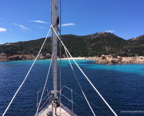 artenza toscana sardegna in barca a vela spargi
