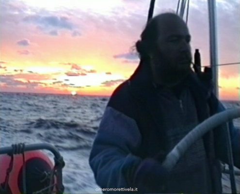 Storie dell'Atlantico - Omero al timone di Helene in oceano