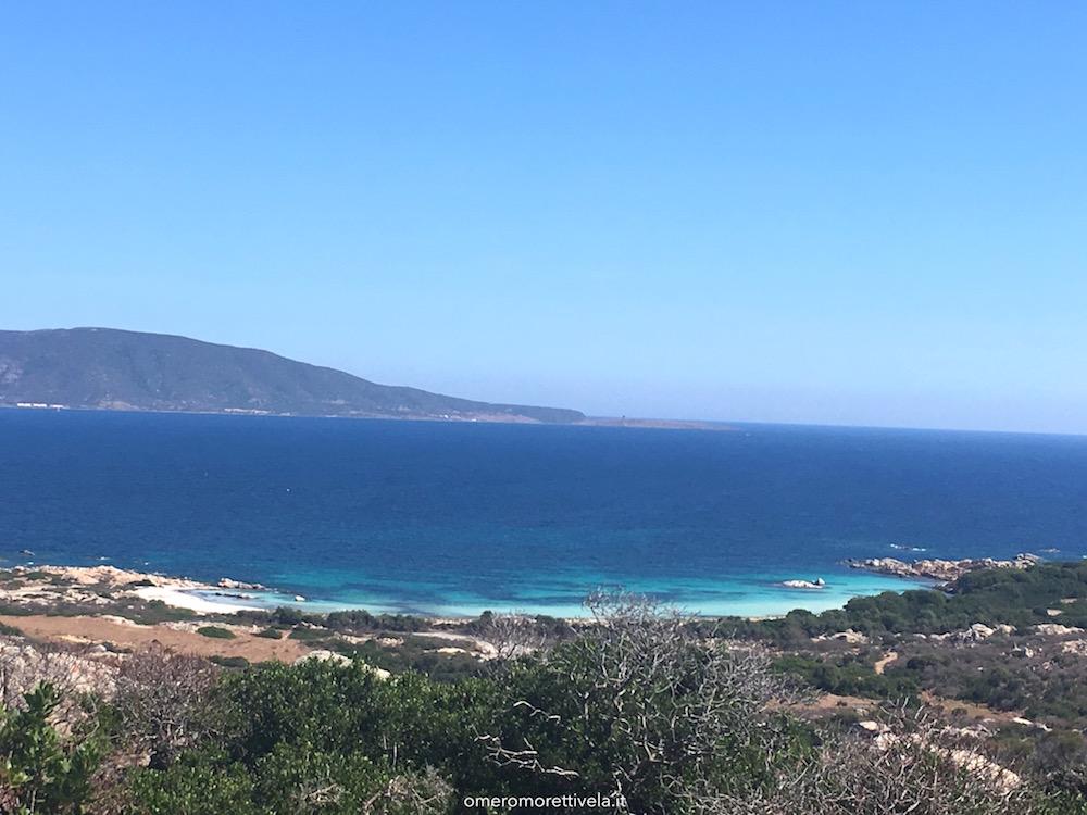 itinerario a vela da Palau ad Alghero asinara spiaggia