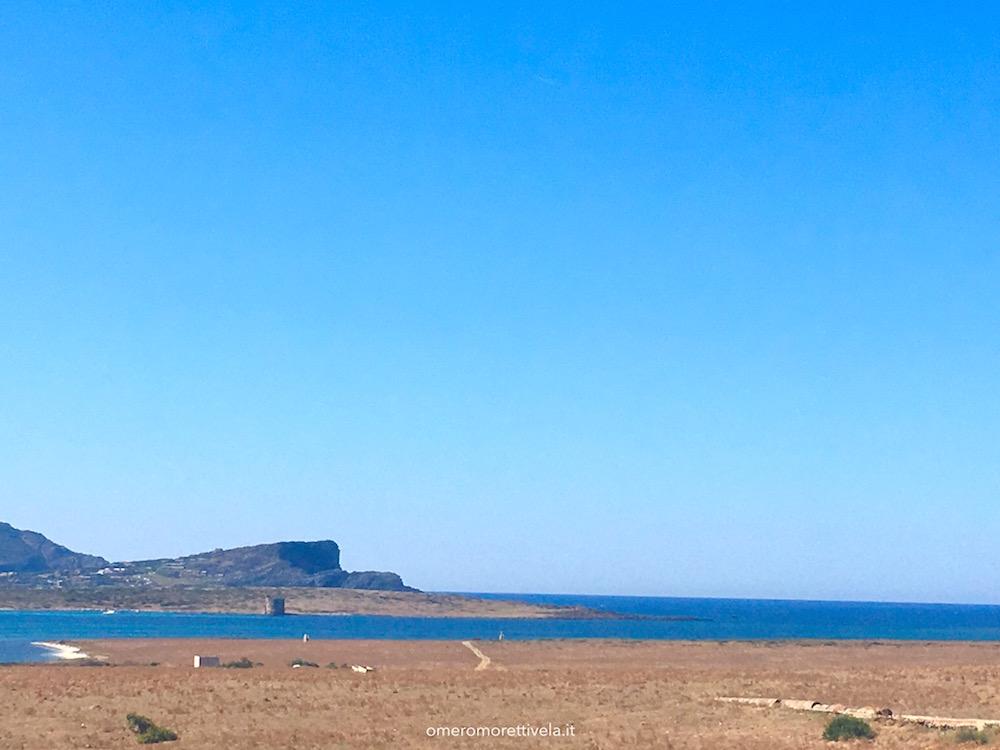 itinerario a vela da Palau ad Alghero spiaggia dei fornelli