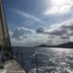 arrivo sull'isola di Ustica