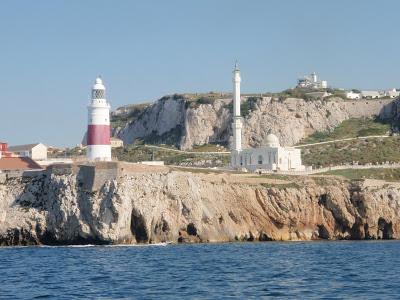 Faro di punta europa Gibilterra