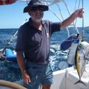 Omero Moretti pesca tonno