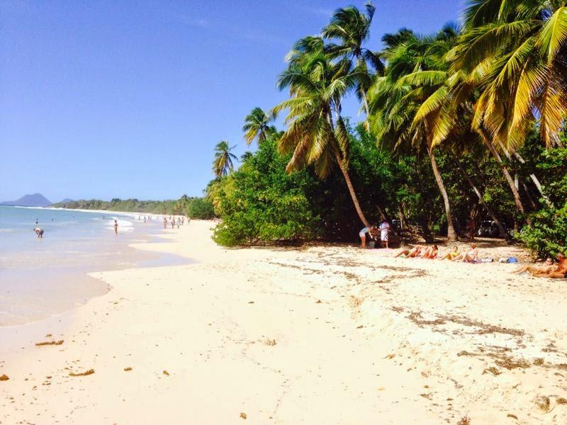 Vacanze in barca a vela Caraibi - Spiaggia di Saint'Anne