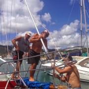 lavori in barca