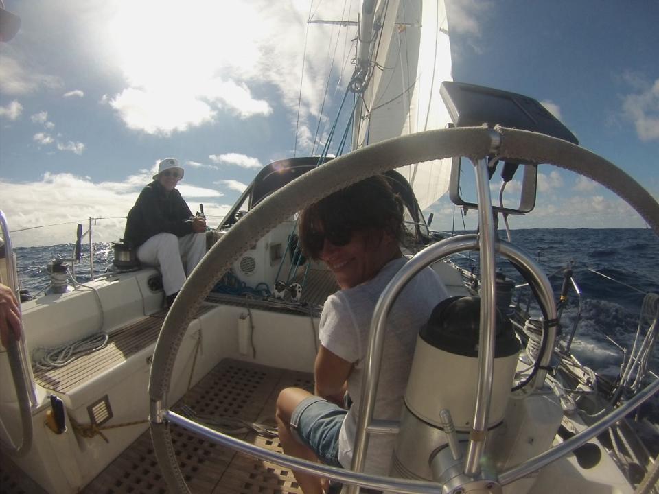 Vacanze in barca a vela hostess