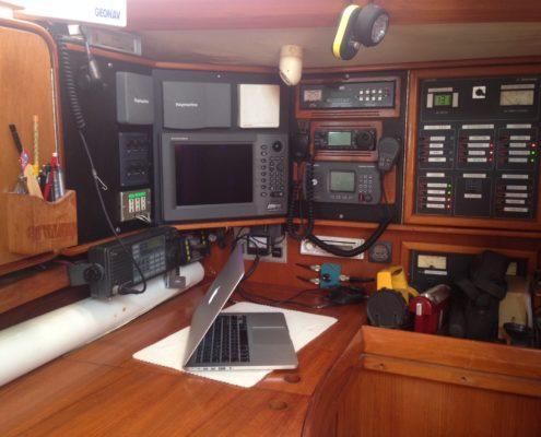 interni barca a vela carteggio