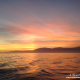 tramonto in Mediterraneo barca a vela