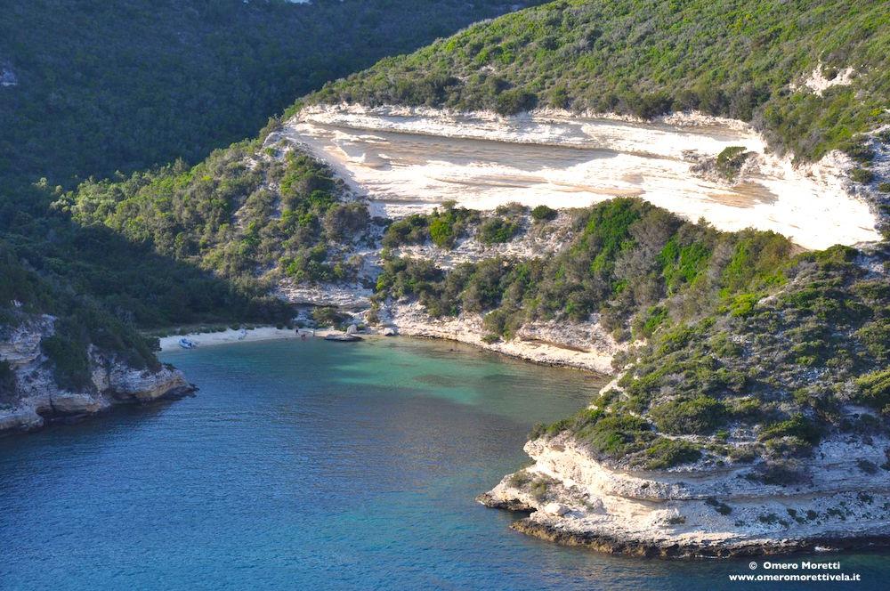 spiaggia bonifacio corsica