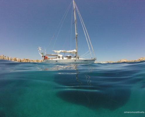 bagaglio per la vacanza in barca a vela