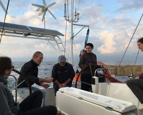 equipaggio trasferimento toscana sardegna alla partenza