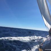 navigazione in mediterraneo bolina dalla sardegna alle baleari alta pressione