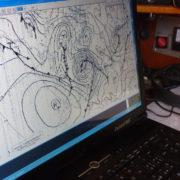 traversata atlantica carte meteo alta pressione