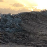traversata atlantica metà strada onda in oceano
