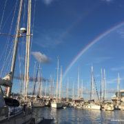 freya a lanzarote arcobaleno