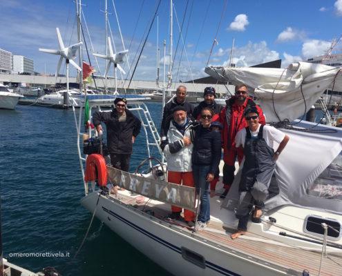 equipaggio navigazione dalle Azzorre a Gibilterra