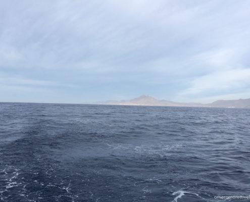 navigazione nel mare di alboran capo de gata