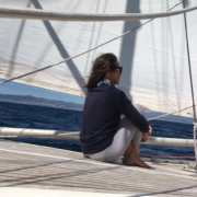 navigazione nel mare di alboran sara