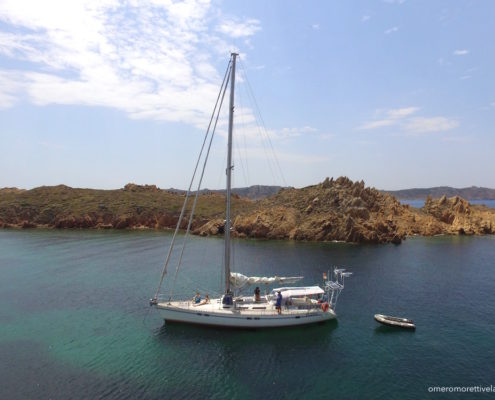 settimana a vela in Sardegna Freya a Razzoli