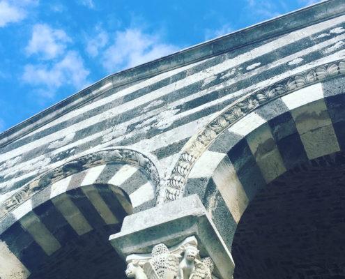sardegna nord occidentale basilica di saccargia dettaglio