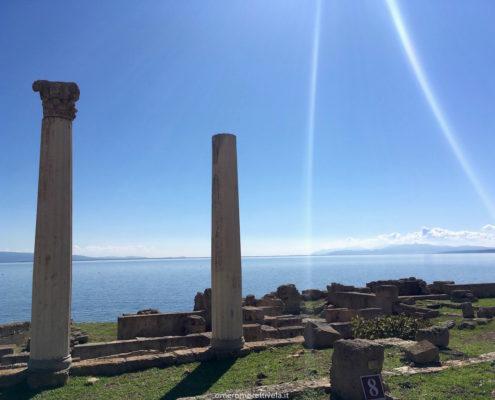 sardegna nord occidentale tharros colonne