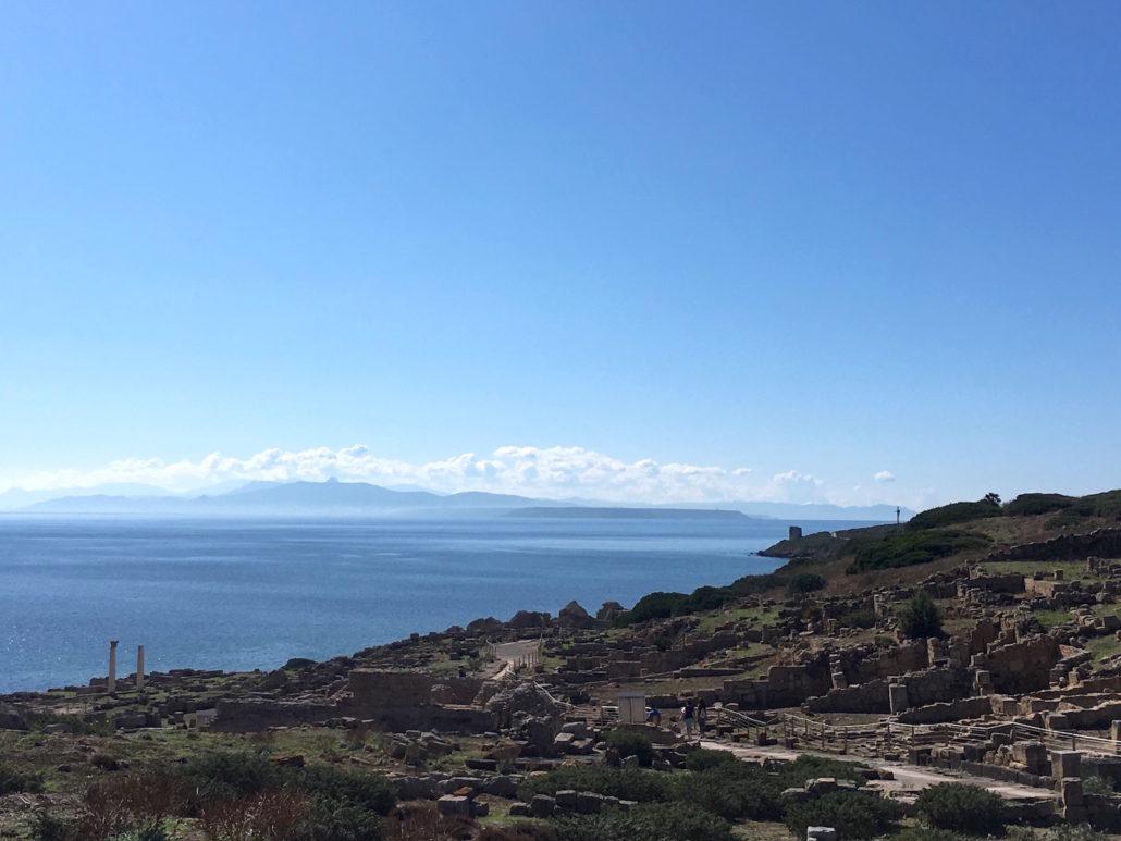 sardegna nord occidentale tharros panorama