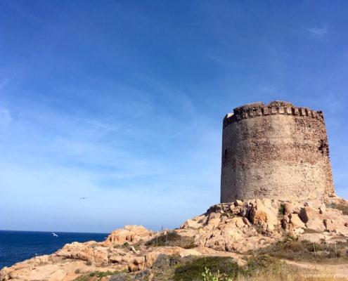 sardegna nord occidentale torre isola rossa