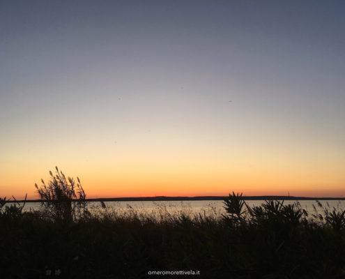 sardegna nord occidentale tramonto a cabras