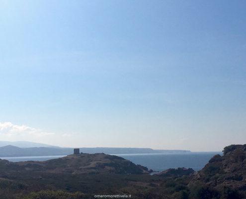 sardegna nord occidentale veduta dalla costa