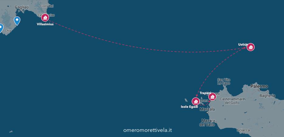 itinerario sardegna sicilia