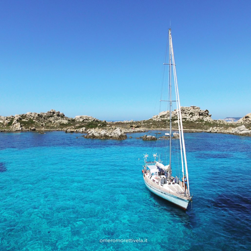 vacanze in barca a vela Sardegna Freya a Lavezzi