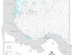 carta nautica loran caraibi