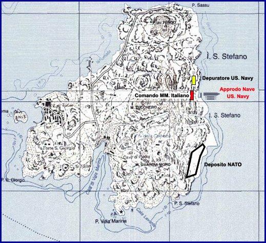 isola di santo stefano carta