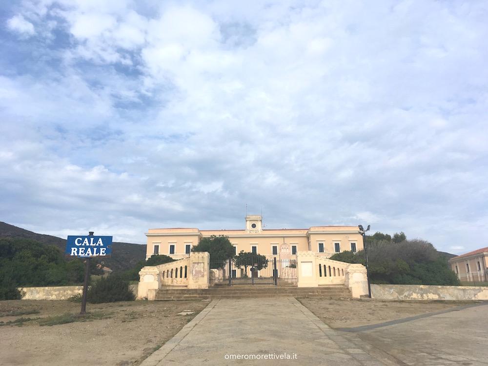 itinerario a vela da Palau ad Alghero cala reale
