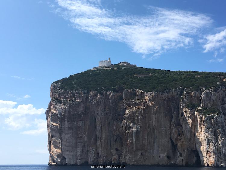 itinerario a vela da Palau ad Alghero Capo Caccia