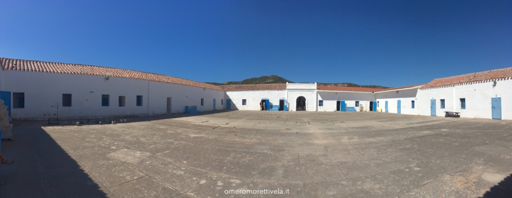 itinerario a vela da Palau ad Alghero carcere asinara
